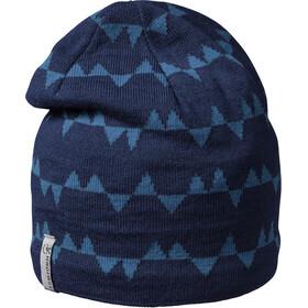 Isbjörn Hawk Bonnet en maille tricotée Enfant, bleu